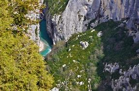 Le parc naturel du Verdon en Provence